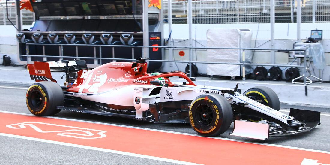 Antonio Giovinazzi - Sauber - Barcelona - F1-Test - 27. Februar 2019