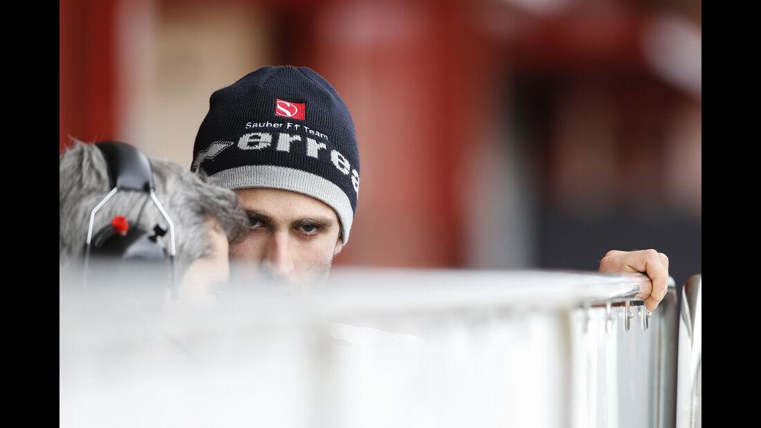 Antonio Giovinazzi - Sauber - F1-Test - Barcelona - 2017