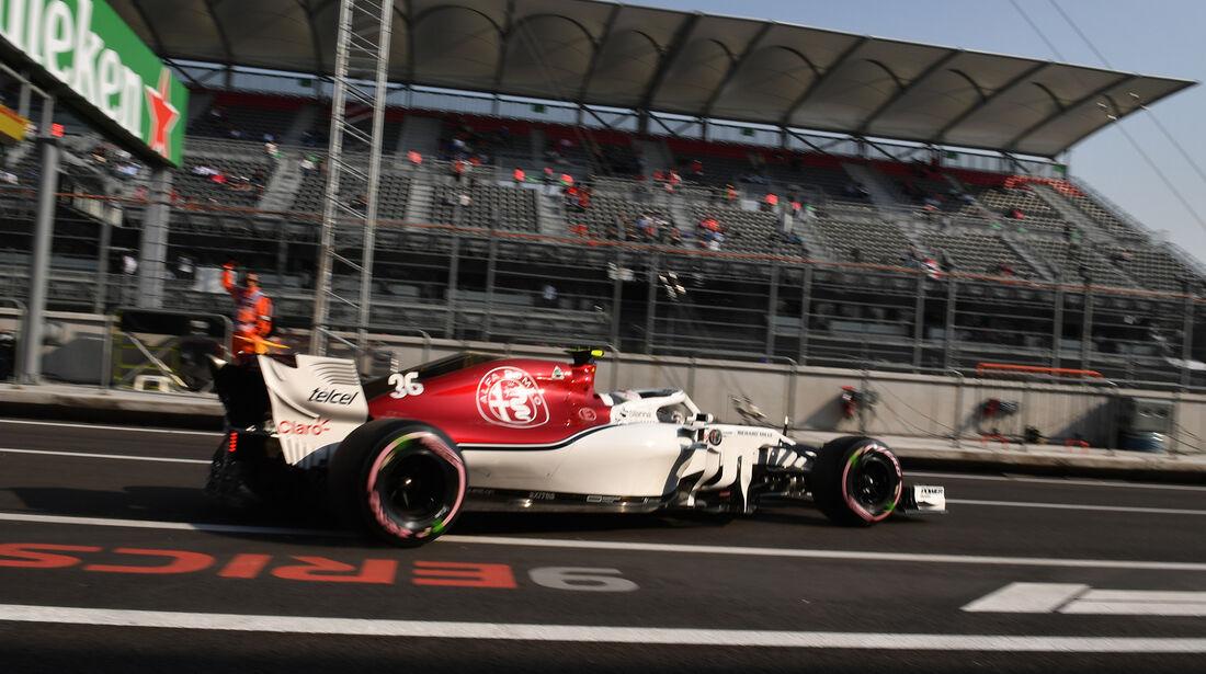 Antonio Giovinazzi - Sauber  - Formel 1 - GP Mexiko - 26. Oktober 2018