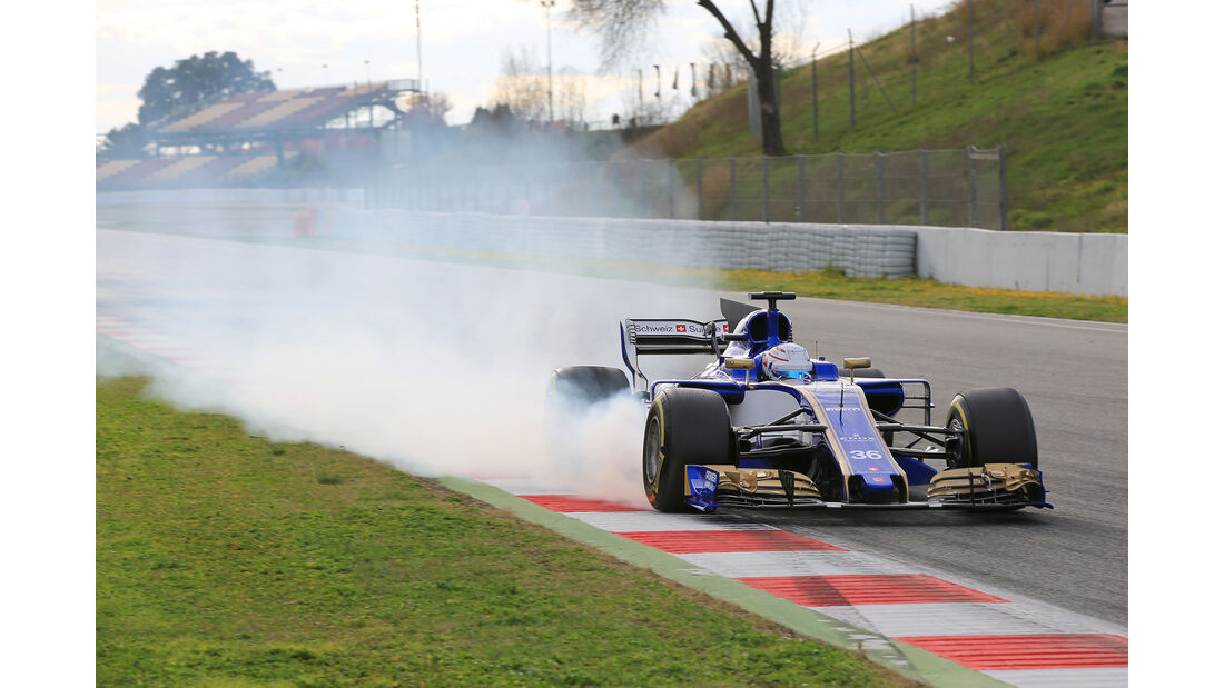 Antonio Giovinazzi - Sauber - Formel 1 - Test - Barcelona - 28. Februar 2017