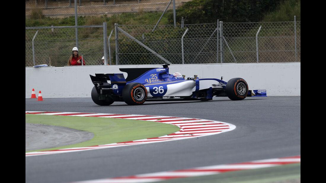 Antonio Giovinazzi - Sauber - Formel 1-Test - Barcelona - 28. Februar 2017