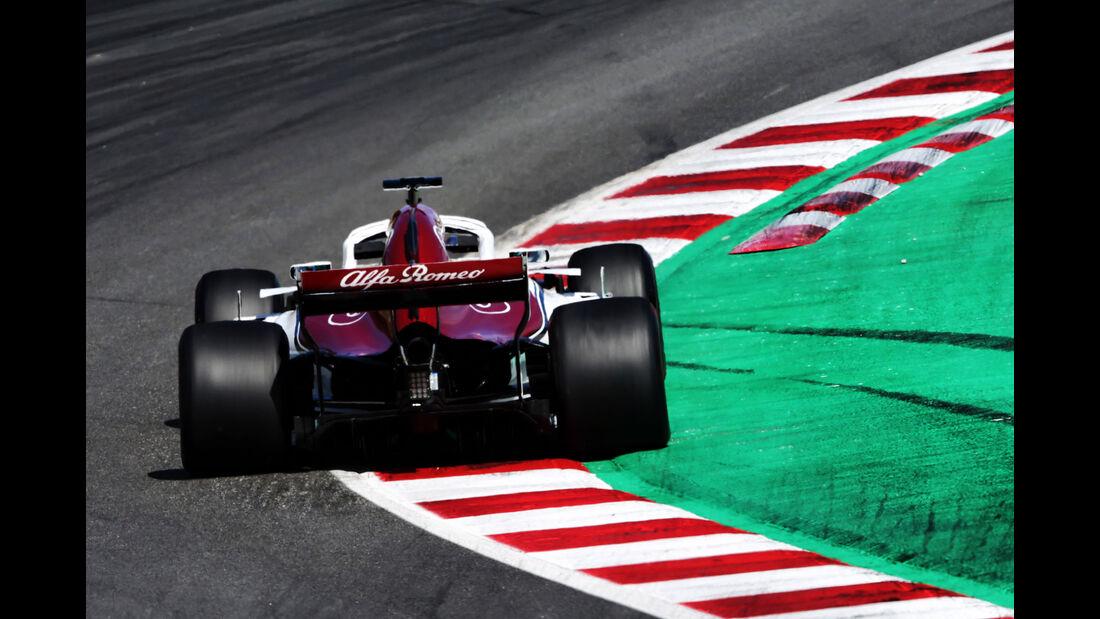 Antonio Giovinazzi - Sauber - Formel 1 - Testfahrten - Barcelona - 15.5.2018