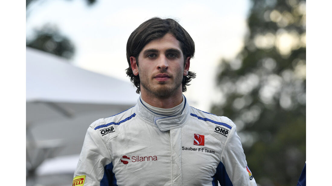 Antonio Giovinazzi - Sauber - GP Australien - Melbourne - 25. März 2017