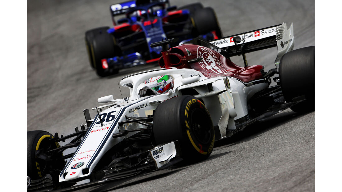Antonio Giovinazzi - Sauber - GP Brasilien - Interlagos - Formel 1 - Freitag - 9.11.2018