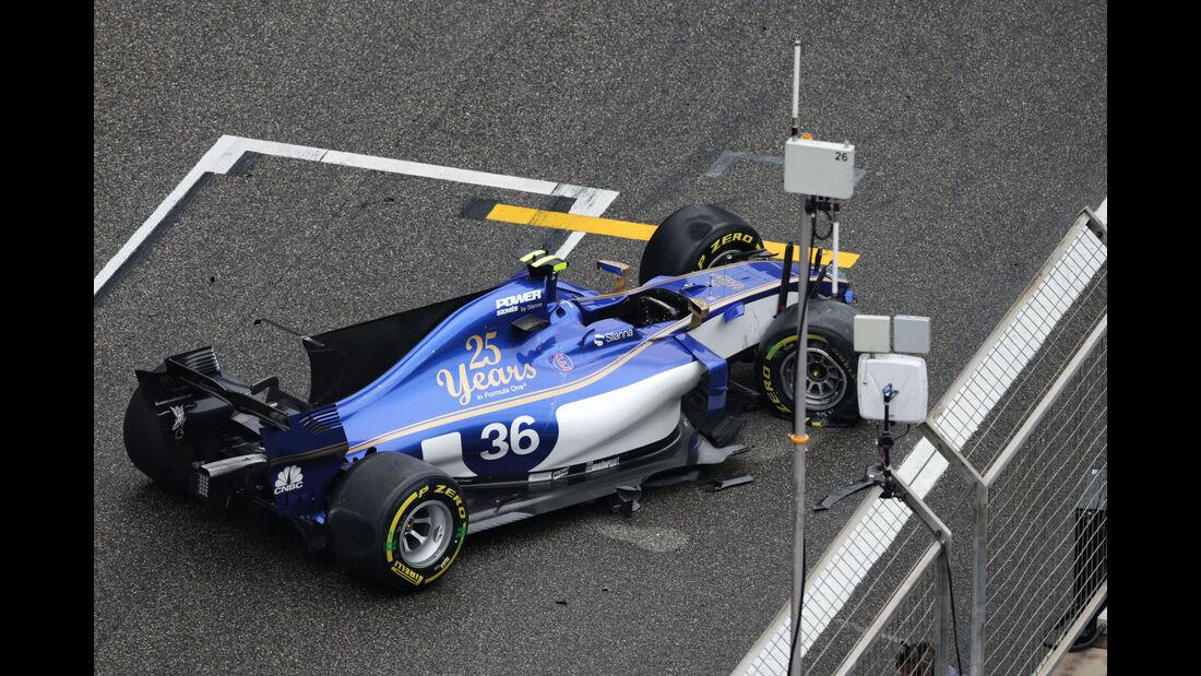 Antonio Giovinazzi - Sauber - GP China 2017 - Shanghai - Rennen