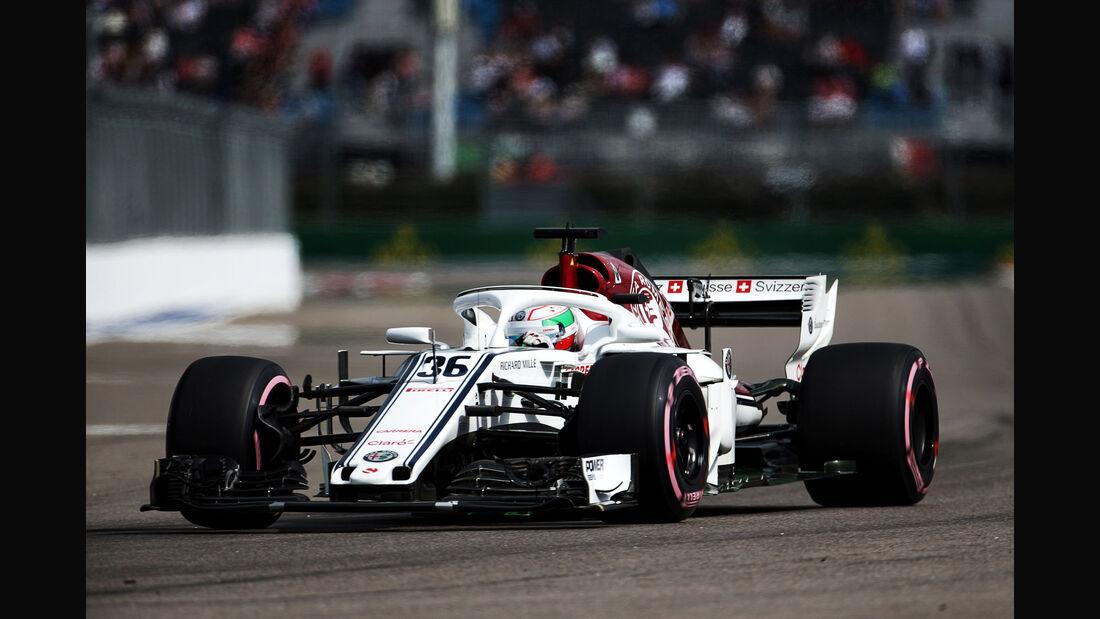 Antonio Giovinazzi - Sauber - GP Russland - Sotschi - Formel 1 - Freitag - 28.9.2018