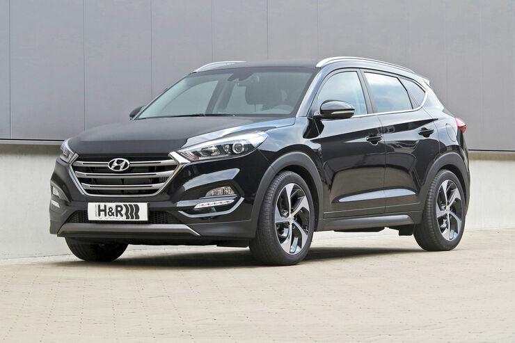 Anzeige H&R Hyundai Tucson