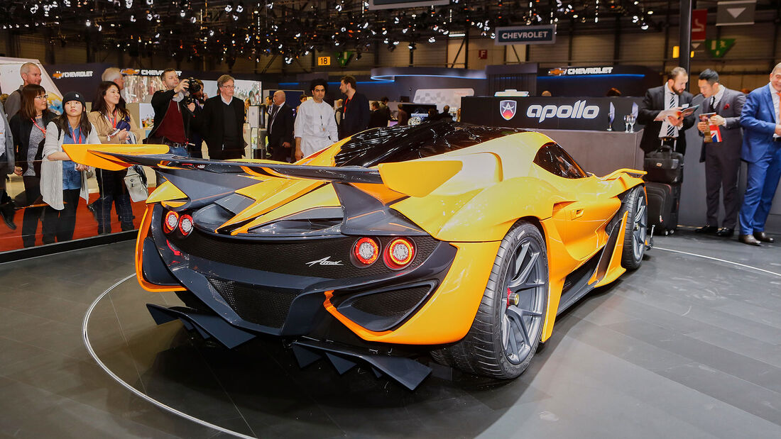 Apollo Automobil GmbH - Arrow- Genfer Autosalon 2016