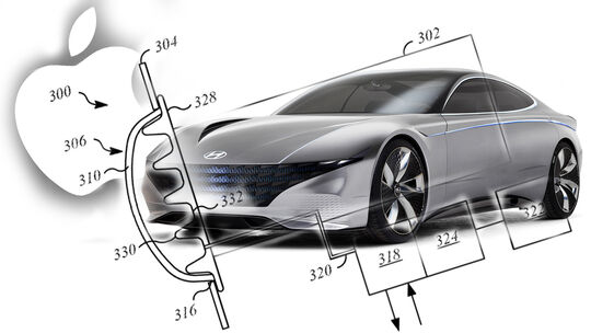 Apple Car Patent Stoßstange