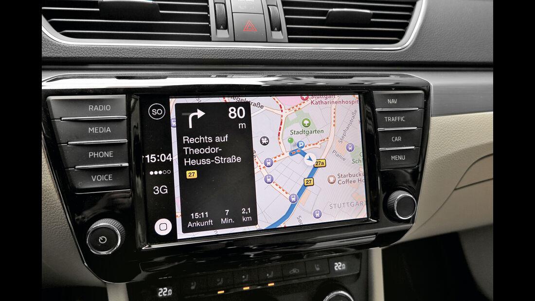 Apple Carplay, Skoda Superb, Infotainment