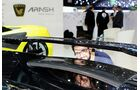 Arash AF10, Hybrid-Supersportwagen, Sitzprobe in Genf 2016