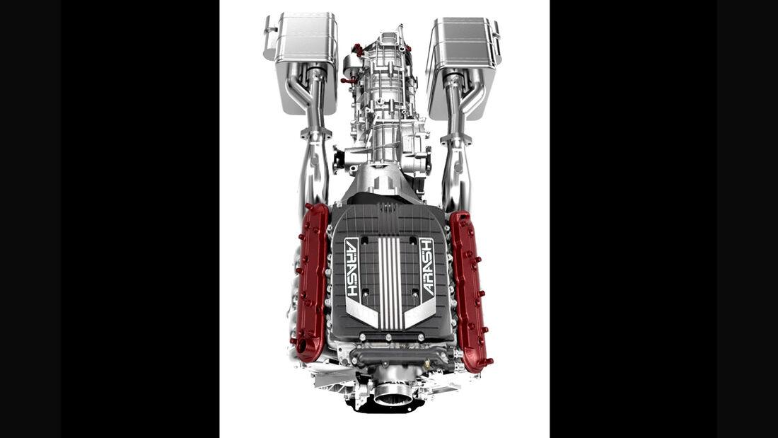 Arash AF10, Hybrid-Supersportwagen