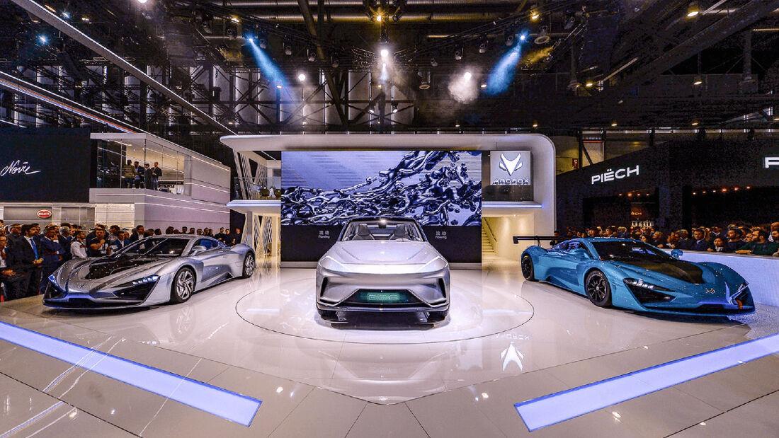 Arcfoc GT und ECF Autosalon Genf 2019