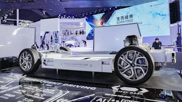 Arcfox Alpha-S Huawei