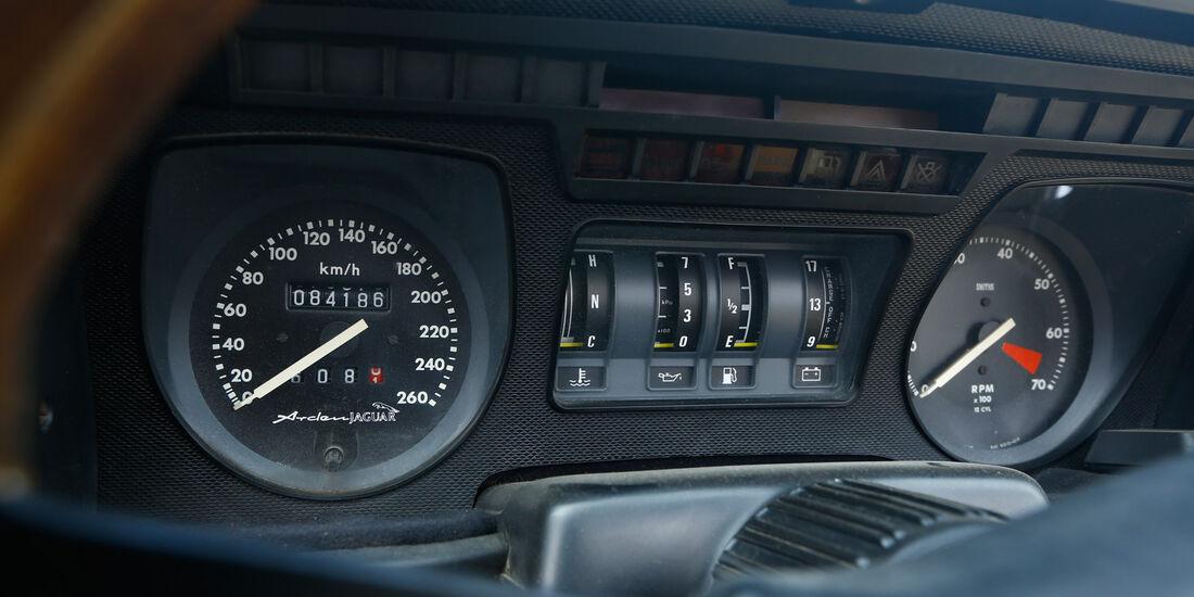 Arden-Jaguar AJ2, Rundinstrumente