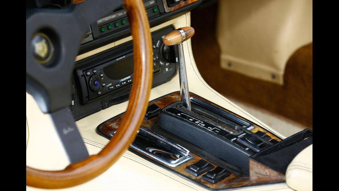 Arden-Jaguar AJ2, Schalthebel