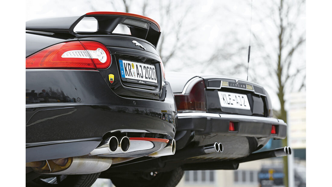 Arden-Jaguar Aj 20 RS, Arden AJ2, Endrohr