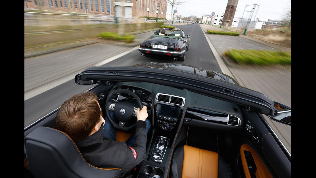 Arden-Jaguar Aj 20 RS, Arden AJ2, Fahrt