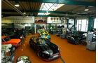 Arden-Jaguar Aj 20 RS, Werkhalle