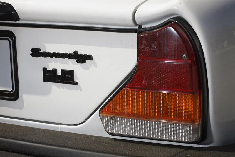 Arden-Jaguar XJ 12, Baujahr 1983, Rückleuchten