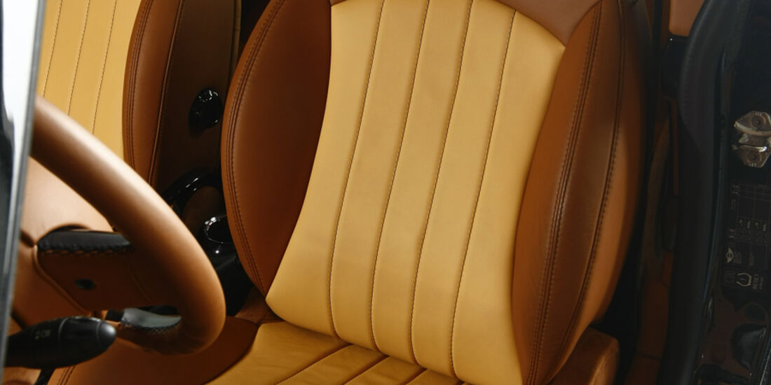 Arden-Mini AM1 Equipe, Sitz
