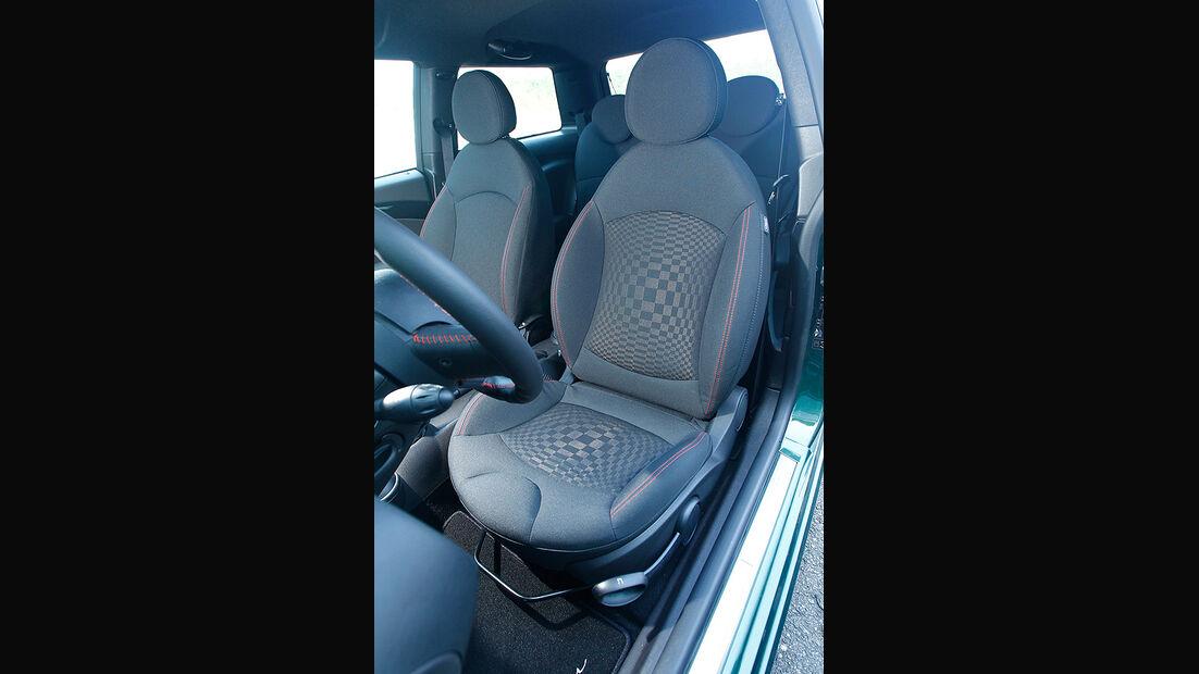 Arden-Mini JCW AM3, Fahrersitz