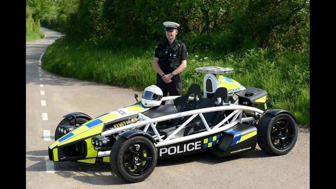 Ariel Atom Polizeiauto