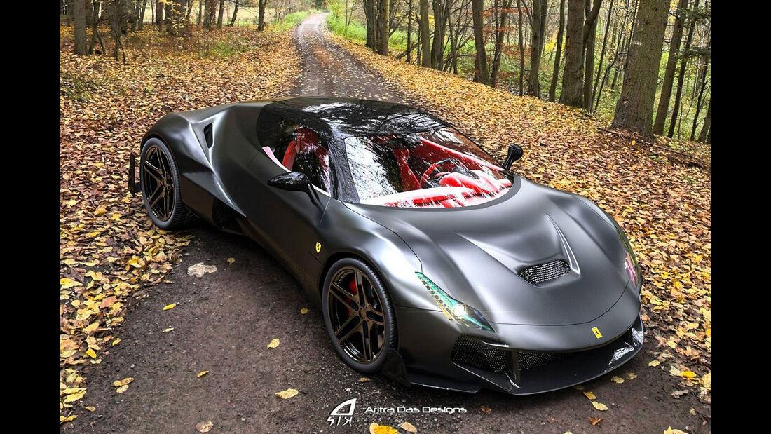 Aritra Das Designs Ferrari Zenyatta
