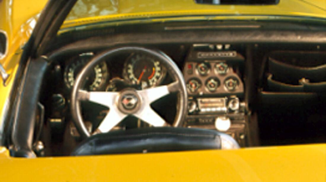 Armaturenbrett der Chevrolet Corvette Stingray 454