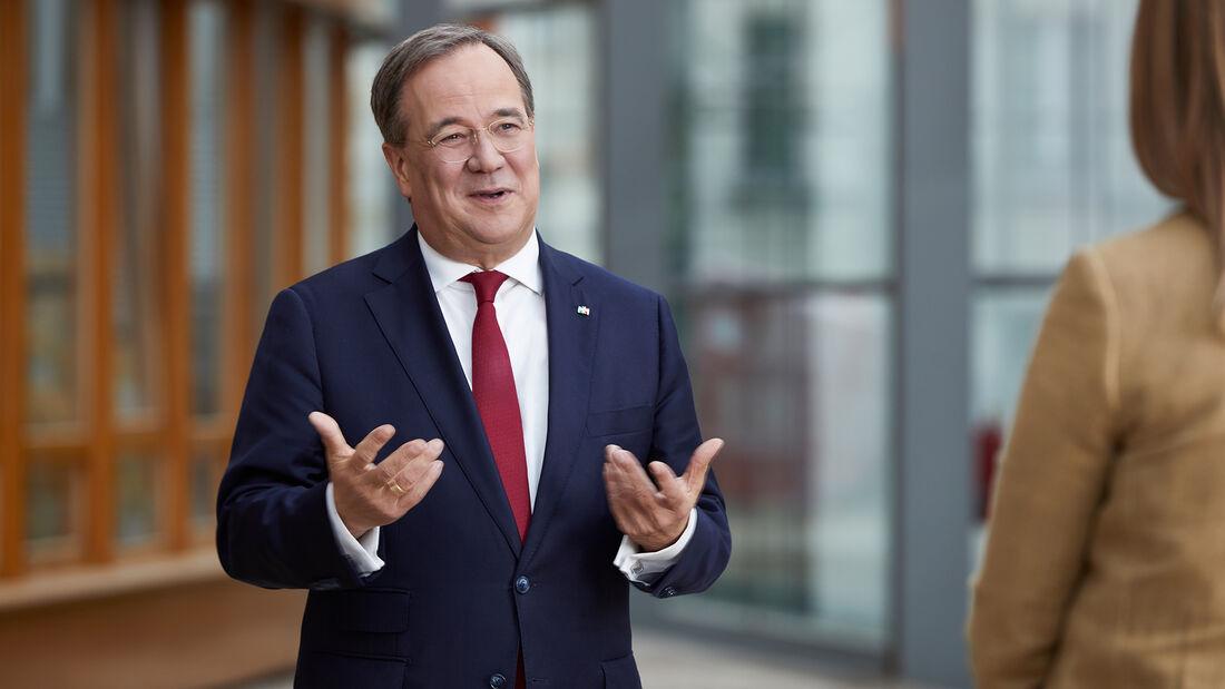 Armin Laschet, Ministerpräsident von Nordrhein-Westfalen und Vorsitzender der CDU Deutschlands