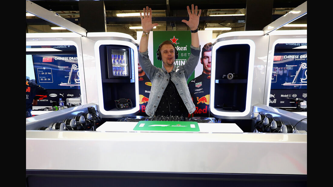 Armin van Buuren - Formel 1 - GP China 2018