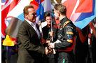 Arnold Schwarzenegger & Nico Hülkenberg - Formel 1 - GP Australien 2015