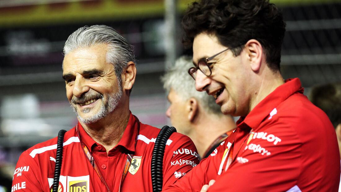 Arrivabene & Binotto - F1 2018