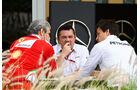 Arrivabene, Boullier & Wolff - GP Bahrain - Formel 1 - 1. April 2016