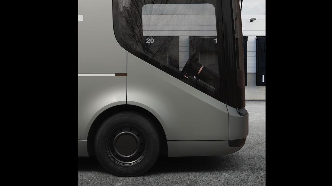 Arrival Elektrotransporter Postbus