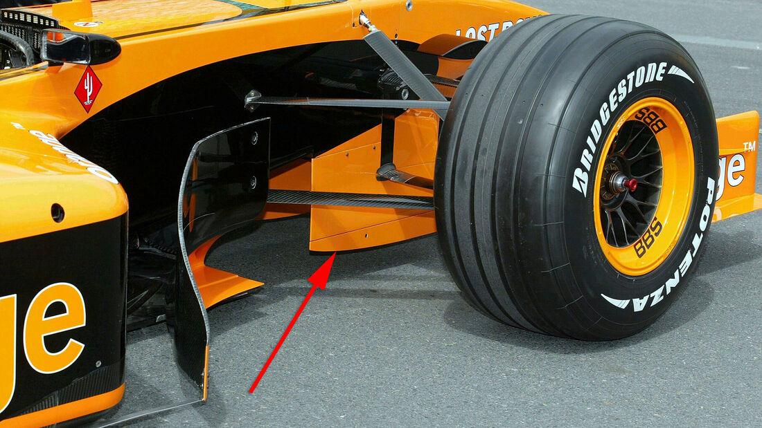 Arrows A23 - GP Australien 2002