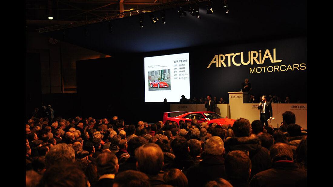 Artcurial Versteigerung Ferrari F40 Ex-Nigel Mansell