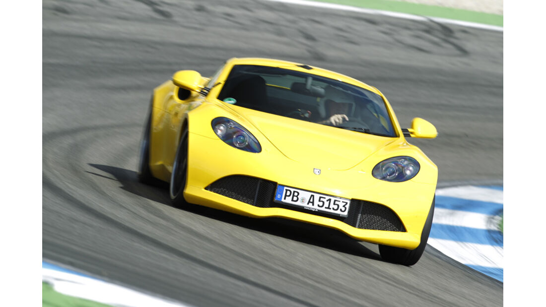 Artega GT, Front