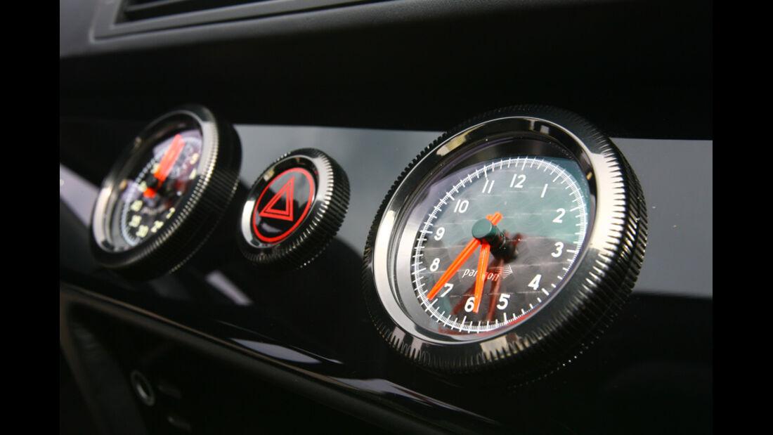 Artega GT, Uhr, Instrumente