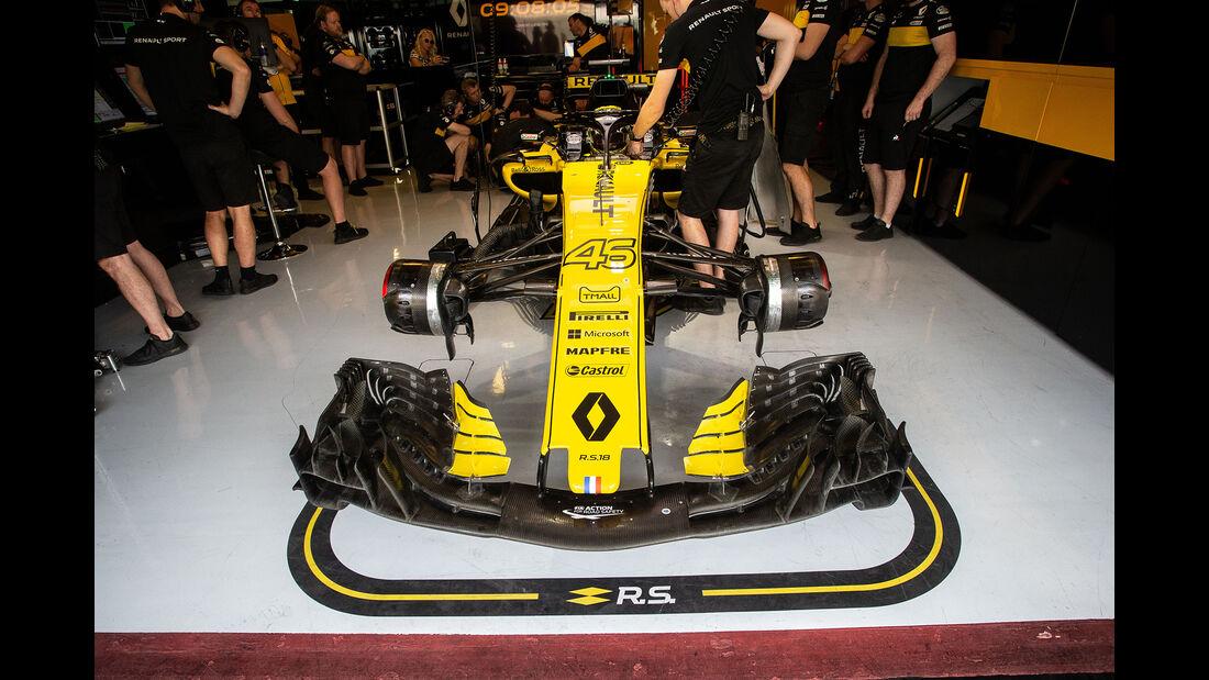 Artem Markelov - Renault - F1-Test - Abu Dhabi - 28. November 2018
