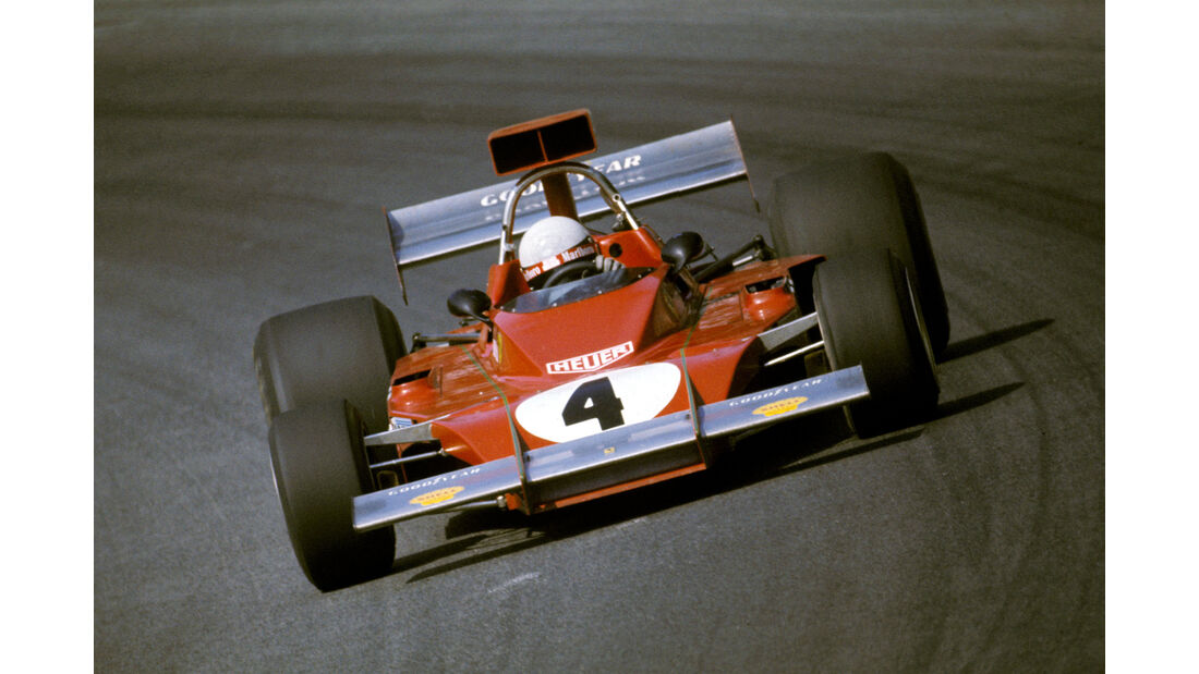 Arturio Merzario - Ferrari 312B3 - GP Österreich 1973