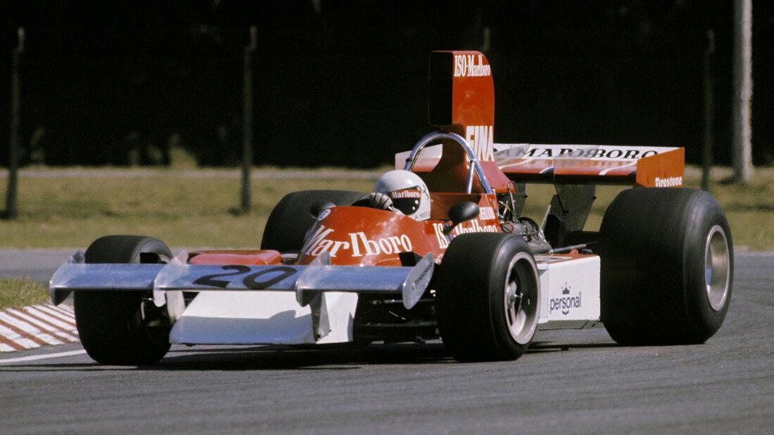 Arturo Merzario - Williams - GP Argentinien 1974