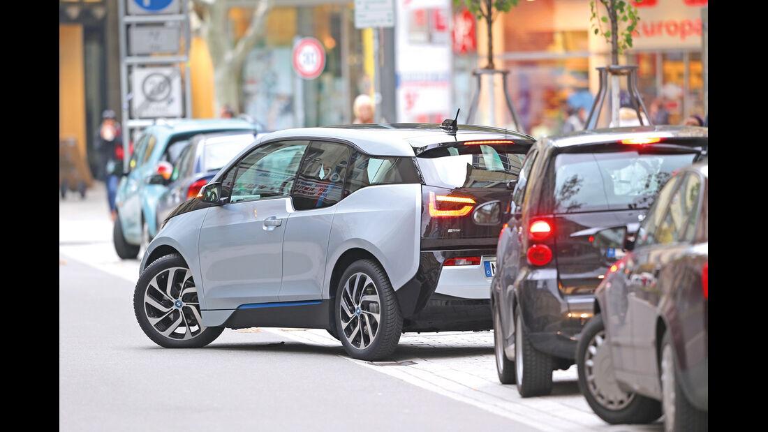 Assistenzsysteme, BMW, Einparken