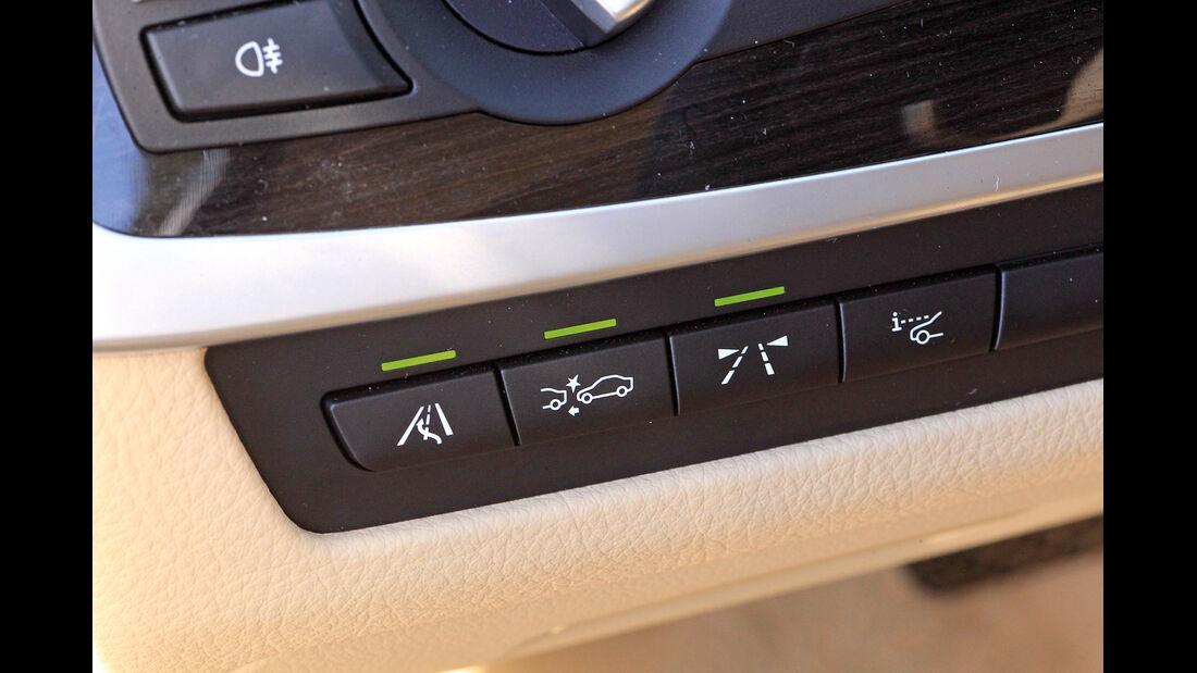 Assistenzsysteme, BMW, Schalterleiste