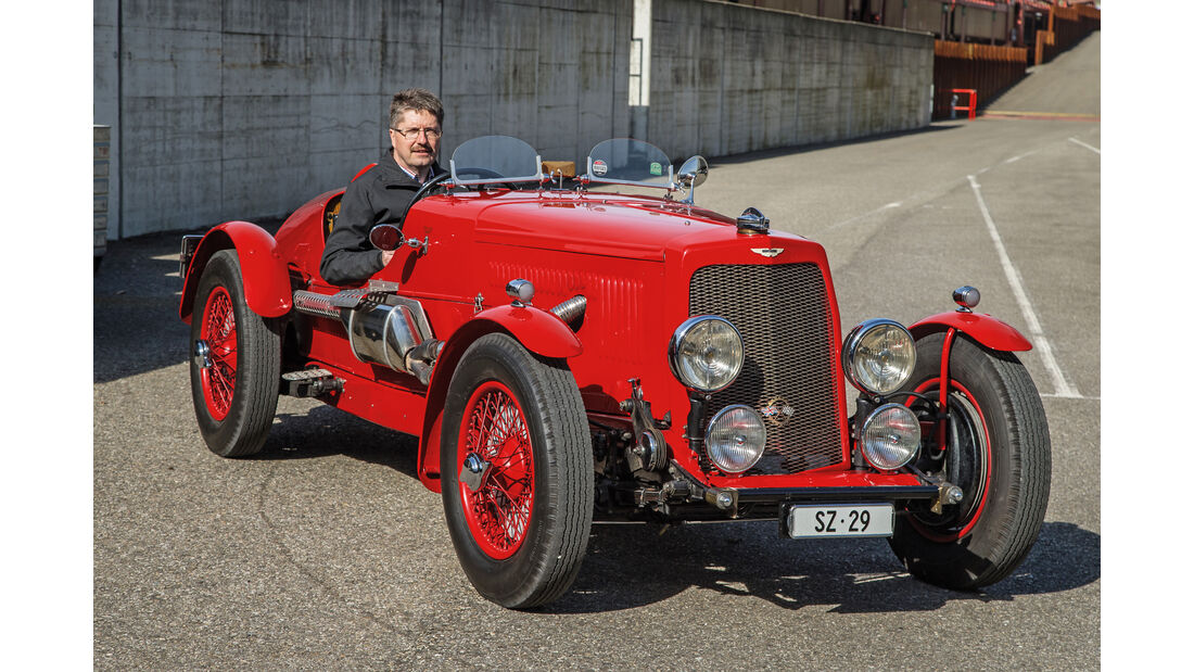 Aston Martin 1,5 Litre, René Gauch