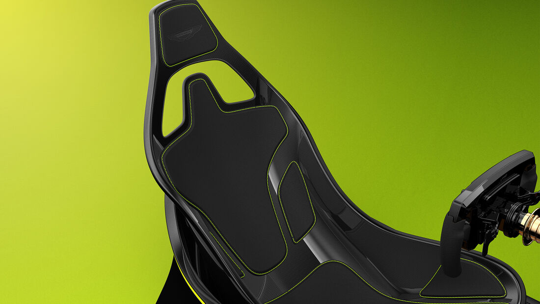 Aston Martin AMR-C01 Fahrsimulator
