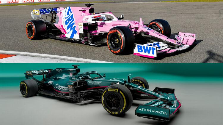 Aston Martin Amr21 Für F1 Saison 2021 Auto Motor Und Sport