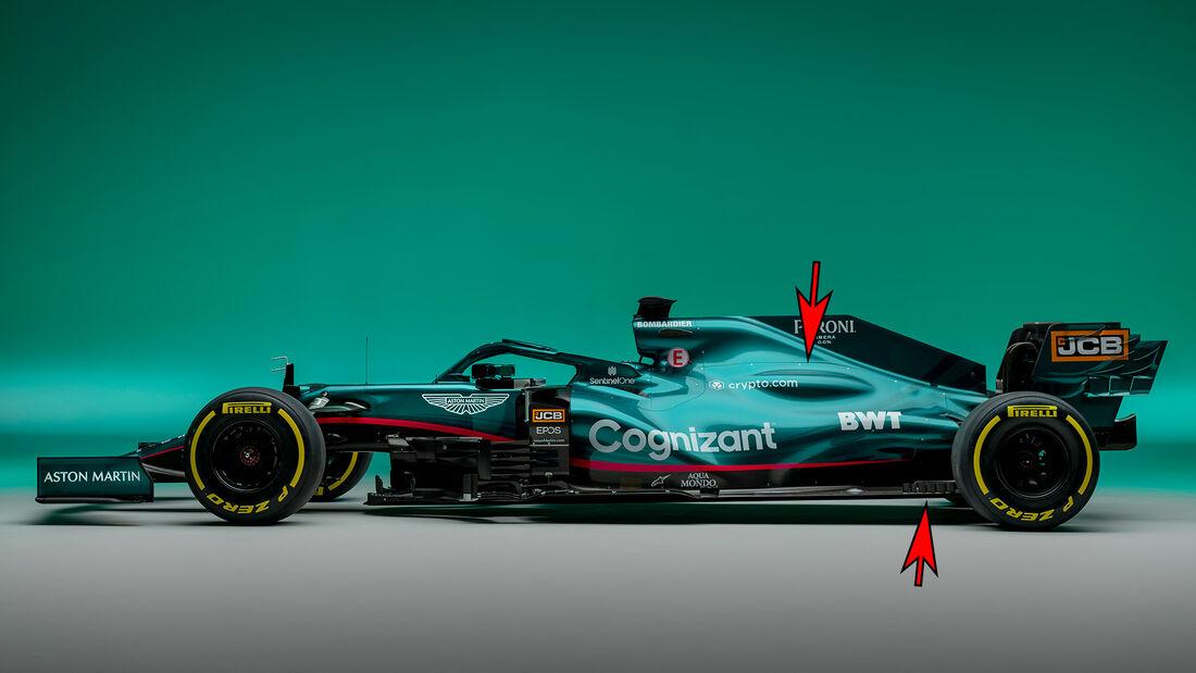 Aston Martin AMR21 - Formel 1 - Technik - 2021