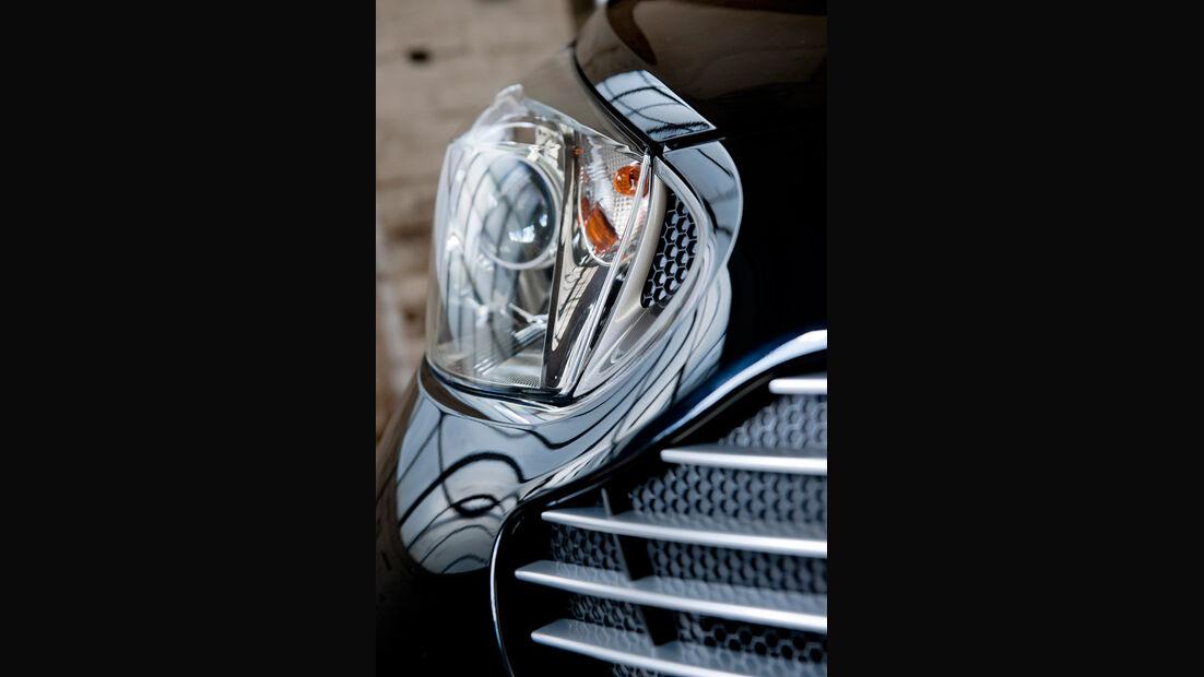 Aston Martin Cygnet, Frontscheinwerfer