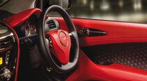 Aston Martin Cygnet Innenraum